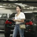 Jenna Dewan in Jeans – Out in LA