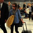 Selena Gomez: at JFK airport in New York