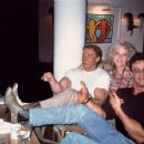 Betty Brosmer, Arnold Schwarzenegger, Sly Stallone