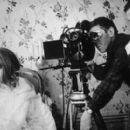 Francois Truffaut and Francoise Dorleac