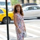 Kathy Griffin: at her hotel in Soho
