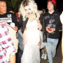 Bella Thorne – Arrives to Halloween party in Los Angeles - 454 x 621