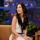 Megan Fox On The Tonight Show with Jay Leno