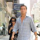 Kourtney Kardashian With Scott Disick Shopping In Midtown, NYC - July 29, 2010
