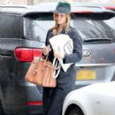 Rosie Huntington-Whiteley was seen holding her pregnant belly while shopping at ABC Carpet & Home store in New York City, New York on April 6, 2017 - 414 x 600