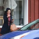 Jordana Brewster out in Brentwood 03/06/2019 - 454 x 317