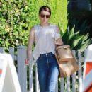 Emma Roberts – Leaves The Oaks Gourmet Market in LA