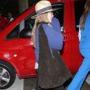 Elizabeth Olsen at LAX Airport in LA
