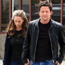Jennifer Love Hewitt - With Fiance Ross McCall, Leave Mo's Restaurant In Los Angeles, April 19 2008