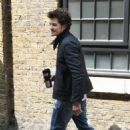 London: Leaving a photoshoot May 25, 2010