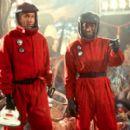 Ira (David Duchovny) and Harry (Orlando Jones) venture into an otherworldly ecosystem in Dreamworks' Evolution - 2001