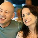 Kristin Davis and Evan Handler