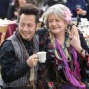 Rob Hilliard (Rob Schneider) and his wife Gloria (Joyce Van Patten) in Columbia Pictures' GROWN UPS. Photo By: Tracy Bennett. ©2009 Columbia TriStar Marketing Group, Inc. All Rights Reserved.