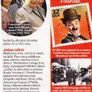 Charlie Chaplin - Tele Tydzień Magazine Pictorial [Poland] (7 April 2017) - 454 x 1202