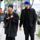 Mena Suvari is spotted walking with a friend during a lunch trip to M Cafe in Beverly Hills, California on February 21, 2017 - 438 x 600