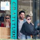Kristen Stewart at Cafe Gratitude in Los Angeles