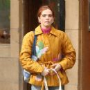 Zoey Deutch – Leaving a Coffee Shop in New York