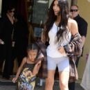 Kim Kardashian out and about in Calabasas