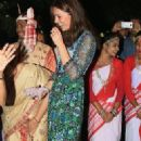 Prince Windsor and Kate Middleton : Bihu Festival