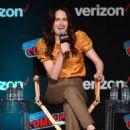 Elizabeth Reaser – Netflix & Chills Panel at 2018 New York Comic Con - 454 x 656