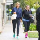 Maria Sharapova is seen leaving the gym on January 10, 2017 - 454 x 303