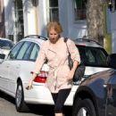 Gwyneth Paltrow Leaving Byron Hairsalon, 2009-03-25