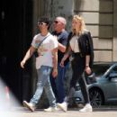 Sophie Turner and Joe Jonas – Out for some lunch in Barcelona - 454 x 431