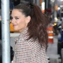 Katie Holmes making an appearance on 'Good Morning America' in New York City, New York on March 29, 2017 - 454 x 564