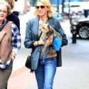 Naomi Watts is all smiles while out and about in New York City, New York with her mom Myfanwy Edwards Roberts on October 17, 2016 - 389 x 600