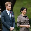Meghan Markle and Prince Harry – Attending a welcome ceremony in Wellington