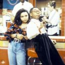 Michelle Thomas and Jaleel White