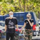 Miley Cyrus with Cody Simpson – Spotted at 10 Speed Coffee in Woodland Hills