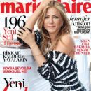 Jennifer Aniston - Marie Claire Magazine Cover [Turkey] (January 2017)