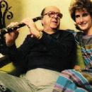 Phil Silvers With Daughter Cathy - 454 x 316