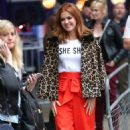 Isla Fisher at BBC Broadcasting House in London - 454 x 777