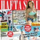 Çagla Kubat, Fahriye Evcen, Burak Özçivit - Haftasonu Magazine Cover [Turkey] (26 August 2015)