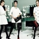 Ava Smith, Lindsey Wixson and Cara Delevingne for Ochirley Fall/Winter 2013 Ad Campaign