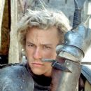 Gallant squires like William Thatcher (Heath Ledger) race toward each other in tests of nerve and skill and become the sports superstars of their time in Columbia's A Knight's Tale - 2001