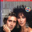 Cher - Premiere Magazine [United States] (February 1988)