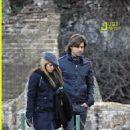 Shakira and Antonio de la Rua in Rome
