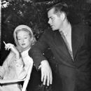 Evelyn Keyes and Glenn Ford