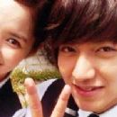 Min-ho Lee and Park Min-Young
