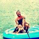 CM Punk and Lita in July 2013 - 454 x 605