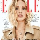 Jennifer Lawrence for Elle Canada Magazine (October 2018)