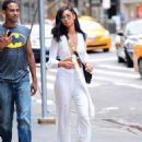Chanel Iman – Out and about in NYC - 454 x 583