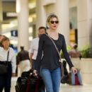 Renée Zellweger Arrives At LAX