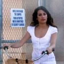 Lea Michele - On The Set Of ''Glee'' In Hollywood 8-26-2010