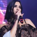 Dua Lipa – Performs at the KTU Concert in NY - 454 x 714