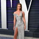 Rosie Huntington-Whiteley in Versace  Dress : 2019 Vanity Fair Oscar Party