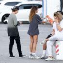 Thylane Blondeau – Shopping candids in LA - 454 x 303